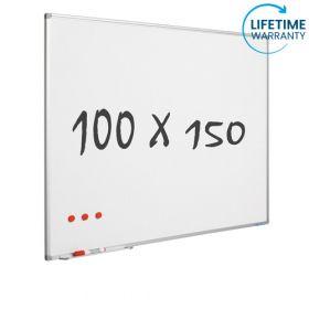 "Whiteboard ""Pro"" S – Emaille – magnetisch – 100x150cm"