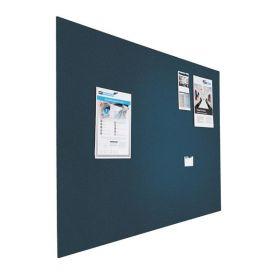 Kleine Design-Pinnwand - Bulletin - 60x90cm - Blau - Schwebend ohne Rahmen