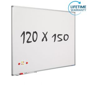 whiteboard emaille 120 x 150 cm