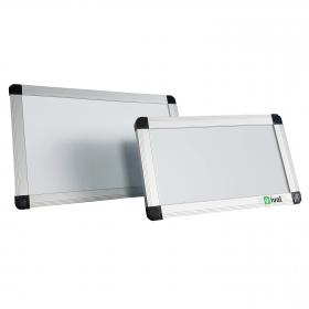 """Whiteboard Mini """"Eco"""" - Tischaufsteller - magnetisch - 15x25 cm"""