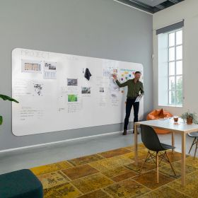 whiteboardwand Chameleon Visuwall 198x392 cm