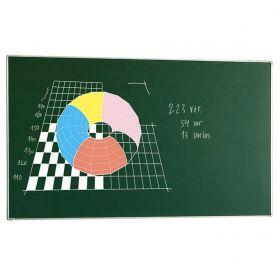 Tafel / Whiteboard  - Emaille-Stahl - Grün - 120x200 cm
