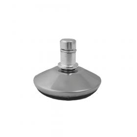"Bürostuhl-Gleiter ""Deluxe"" - 5er Set - 11mm - Edles Aluminium und kratzfreie Oberfläche"