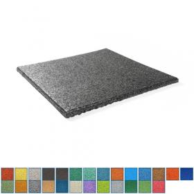 EPDM-Fallschutzmatte - 50x50cm - 35mm - UV-fest