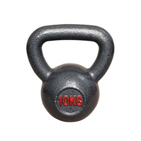 Kettlebell aus Gusseisen - Fitness Kugelhantel - 10kg