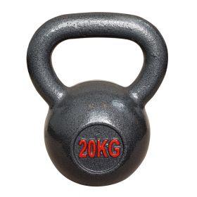 Kettlebell aus Gusseisen - Fitness Kugelhantel - 20kg