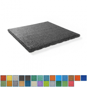 EPDM-Fallschutzmatte - 50x50cm - 45mm - UV-fest