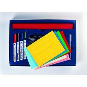 Zubehörbox für professionelle An- und Abwesenheitstafeln - 200 Teile