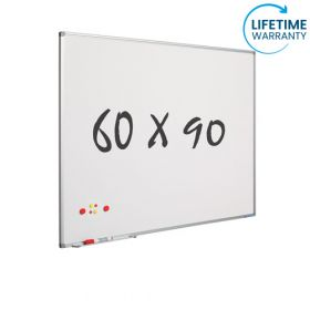 "Whiteboard ""Pro"" S - Emaille - magnetisch - 60x90cm"