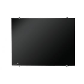 Glasboard 90x120 cm schwarz