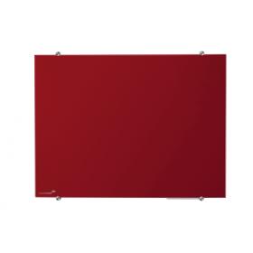 Glasboard Rot 90x120 cm