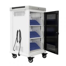 Tabletwagen - Safecart 30 PRO+ - Sichere Lagerung und einfache Handhabung für 30 Tablets