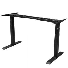 Schreibtisch-Untergestell - Einzelmotor - Schwarz