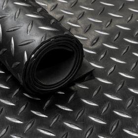 Gummimatte von der Rolle, Diamant Motiv, 150cm, 3mm dick