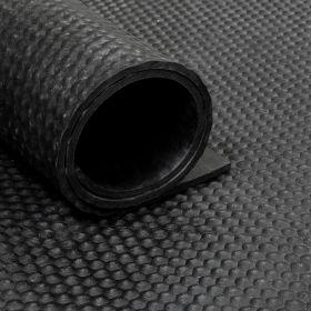 Gummimatte von der Rolle - Hammerschlag, grob - 180cm - 8 mm
