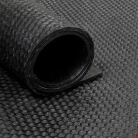Gummiläufer/Gummimatte - Rolle von 16,5m² - 6mm Hammerschlag - Breite 165cm