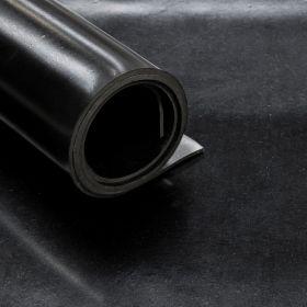"""❎ SBR-Gummi """"Black Miami"""" - 8mm - 140cm x 5m Rolle - 7 m² - Ohne Einlagen - REACH-konform"""