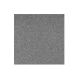 Akustisches Wandpaneel PET-Filz - 100x100 cm - Grau