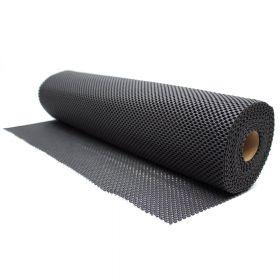 Antirutschmatte - Schwarz - 60 x 1000 cm - Für Werkbänke und Schubladen