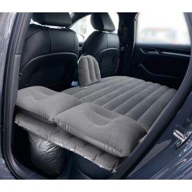 Autoluftmatratze für den Rücksitz - mit 12V Elektropumpe, 2 Kissen und Reparaturset