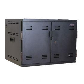 AVerCharge X12 - Ladeschrank für 12 Laptops - Kompakter & stapelbarer Schrank