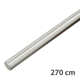 """Edelstahl-Treppengeländer - """"gebürstet""""  - 270 cm"""