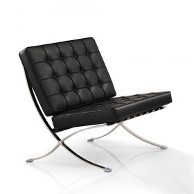 Barcelona Sessel schwarz