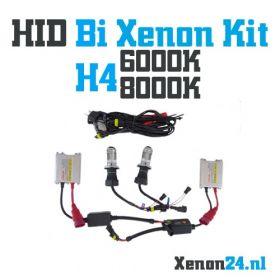 bi xenon kit h4 6000k
