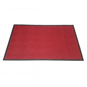 Schmutzfangmatte Brush Clean 90x150 cm - Rot