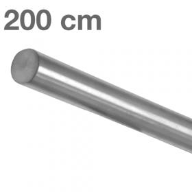"""Edelstahl-Treppengeländer - """"gebürstet""""  - 200 cm"""