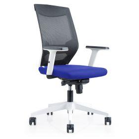 Bürostuhl Brescia Blau - Rocada Ergoline - rückenfreundlich und günstig