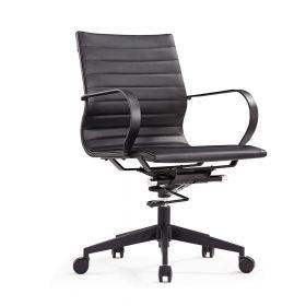 Bürostuhl Vigo in elegantem Schwarz - ergonomische Form & schlankes Design