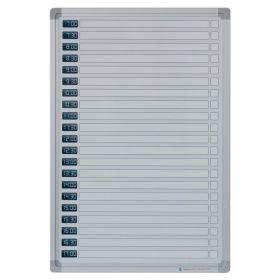 whiteboard dagplanner 30x45 cm