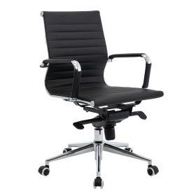 Bürostuhl Valencia Deluxe - neue Edition - Schwarz