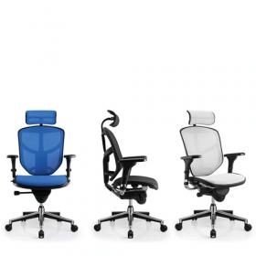 Der COMFORT Bürostuhl Enjoy Classic - mit Kopfstütze - verschiedene Farben