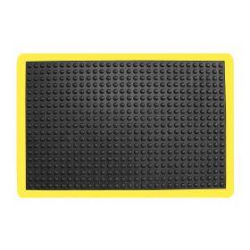 Anti-Ermüdungsmatte - 90x120cm- Signalfarbe - Stehplatz-Matten für Sicherheit & Ergonomie am Steharbeitsplatz