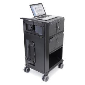 Ipad-Ladewagen Ergotron Management 32 - 32 iPads gleichzeitig synchronisieren & laden