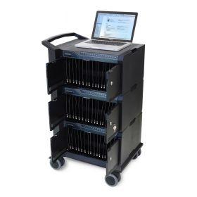 Ipad-Ladewagen Ergotron Management 48 - 48 iPads gleichzeitig synchronisieren & laden