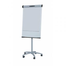 Flipchart 67 x 100 cm - Magnethaftend mit Rollenfuss und 2 Papierhaltern
