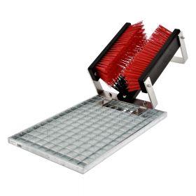 FloorMAX® Classic professioneller Schuhreiniger / Stiefelbürste mit Gitter