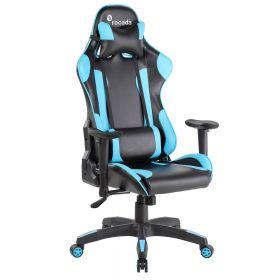 Gamechair Pro Blau - Rocada Ergoline - Wippmechanik- ergonomisch & robust