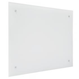 Glasboard - 100x100 cm - quadratisch - magnetisch - Weiß