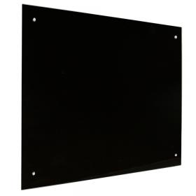 Glas Magnettafel – 60x90 cm – magnetisch - Schwarz