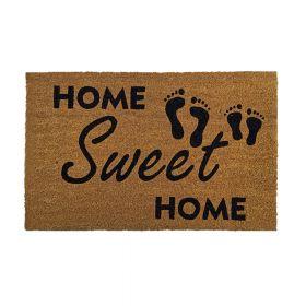 """Kokos-Fußmatte - """"Home Sweet Home"""" - 40 x 60 cm - Rutschfest, staubfrei & effektiver Schmutzabrieb. Ein Klassiker für jedes Heim! ▶️ Jetzt einfach und günstig online kaufen! ✅ Gratis Versand (DE) ✅ Firmen auf Rechnung ✅ Schnelle Lieferung"""