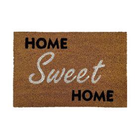 """Kokos-Fußmatte - """"Home Sweet Home 2"""" - 40 x 60 cm - Rutschfest, staubfrei & effektiver Schmutzabrieb"""