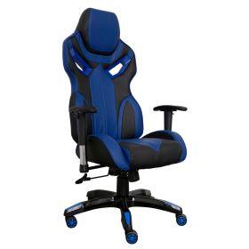 Spielstuhl - Gaming Chair Race - Blau