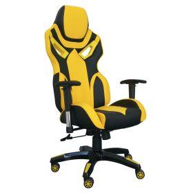 Gaming Chair Schwarz-Gelb Biene
