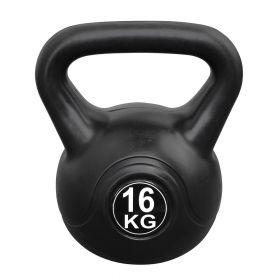 Fitness-Gewicht - 16kg - Schwarz - Glockenhantel - Kettle-Bell