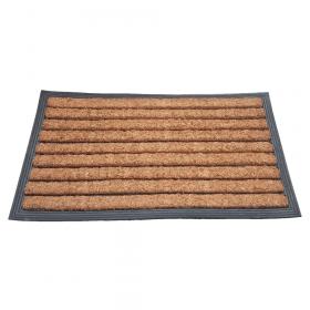 Fußmatte Gummi/Kokos 40x70 cm - Streifen