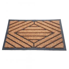 Fußmatte Gummi/Kokos 40x70 cm